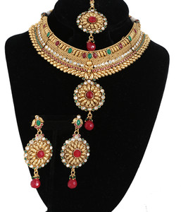 Heavy Bridal necklace Fashion Jewelry