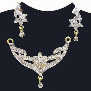 American Diamond Mangalsutra Pendant