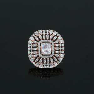 White Simulated Diamond Emerald Cushion Cut Large CZ