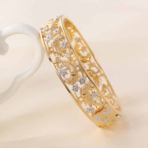 18 karat Gold color bracelet