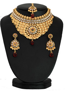 Indian wedding jewelry necklace