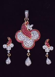 Fuchsia stone fashion jewelry