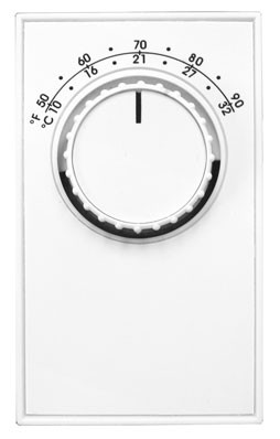 TH-ET5 Line Voltage Thermostat, Single Pole with leads, 22