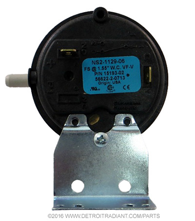 Part NumberUF-642 DescriptionPressure Switch, 1.55″ WC Used OnUH and FA