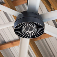Macroair AirVolution D370 12' 220 V Industrial Ceiling Fan Industrial Ceiling Fan. Includes Standard Beam mount and Digital Controller