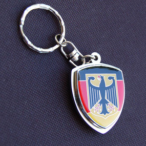 Germany Eagle Crest Key Chain
