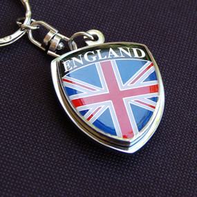 United Kingdom England Great Britain Crest Key Chain