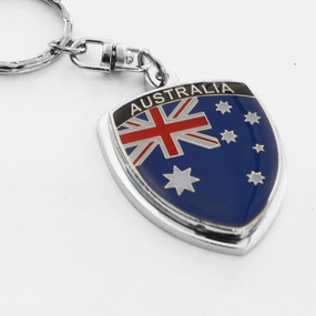 Australia Crest Key Chain