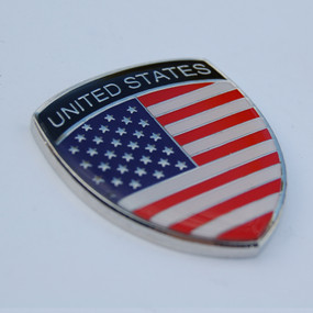 USA American Crest Emblem