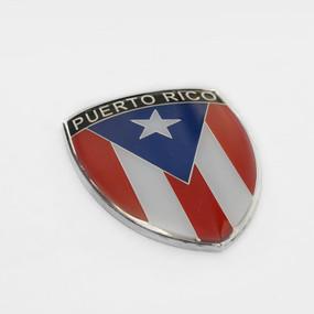 """Puerto Rico Crest Emblem 2.5"""""""