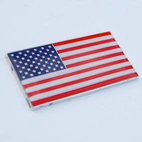 "USA American Crest Emblem 2"" x 1"""