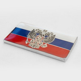 "Russia Badge Emblem 2"" x 1"""