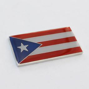 """Puerto Rico Badge Emblem 2"""" x 1"""""""