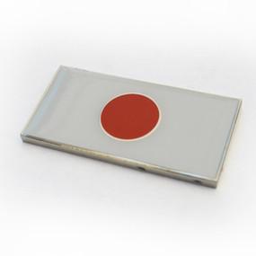 """Japan Badge Emblem 2"""" x 1"""""""