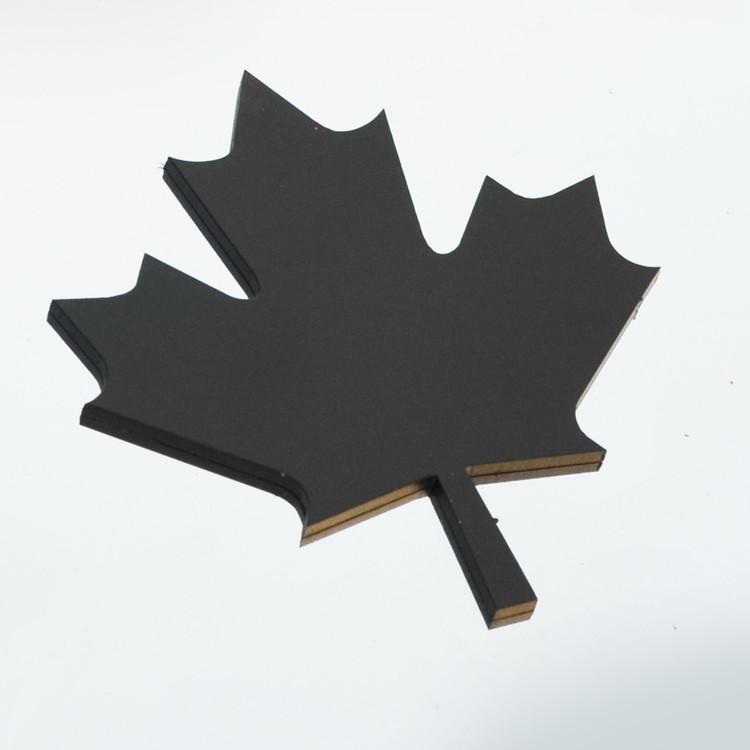 Canada Black Stainless Emblem Badge Crest Insignia