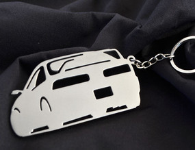 Custom Stainless Steel Keychain for Acura GSR Enthusiasts