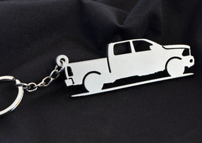 Custom Stainless Steel Keychain for Dodge Ram Enthusiasts
