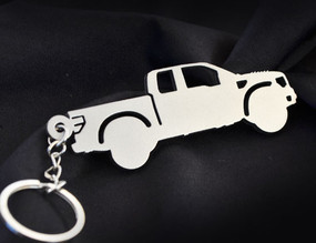 Custom Stainless Steel Keychain for Ford Raport Enthusiasts