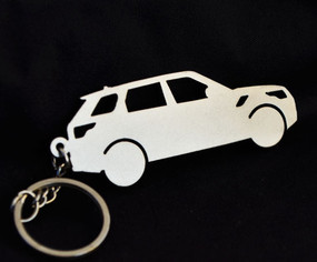 Custom Stainless Steel Keychain for Range Rover Sport Enthusiasts