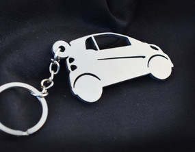 Custom Stainless Steel Keychain for Smart Enthusiasts