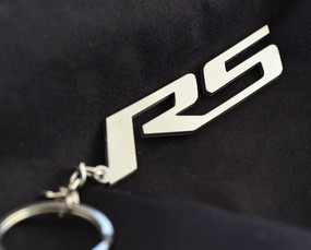 Custom Stainless Steel RS Keychain