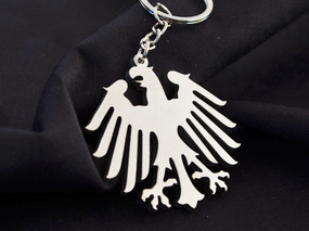 Germany Classic Eagle Custom Stainless Steel Keychain