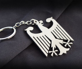 Germany Eagle Custom Stainless Steel Keychain