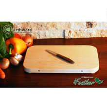 Eco Feather medium Urthware all natural cutting board
