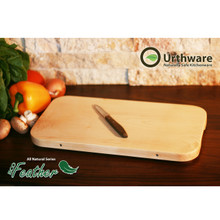 Eco Feather large all natural cutting board Urthware