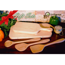 Urthware Eco boards with utensils gift set