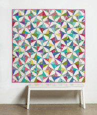 Confetti Quilt is a modern, striking quilt
