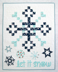 Let it Snow Christmas Wall Hanging
