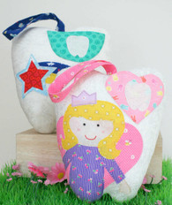 Tooth Fairy Tooth Cushions - Both Tooth Fairy and Shooting Star patterns included