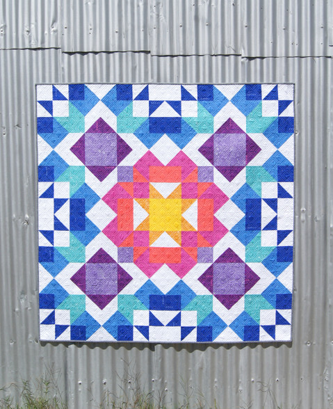 Aurora Quilt - Lap, Queen and Pillow sizes included