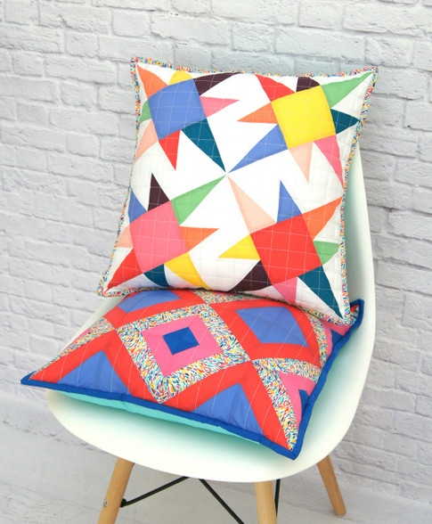 Stars and Stripes - Foundation Paper Pieced Pillow Set