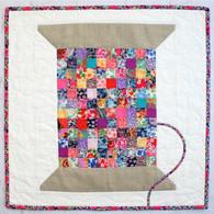 Liberty Vintage Cotton Reel Mini Quilt