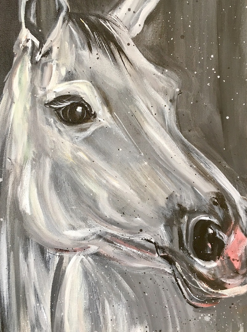 Custom Horse Portrait by MG Stout