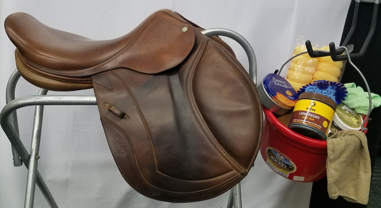 Saddle cleaning and care
