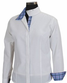 Equine Couture Ladies Isabel Coolmax Snap Collar Show Shirts