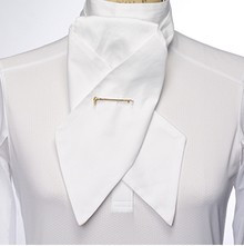 Essex Pique White Stock Tie
