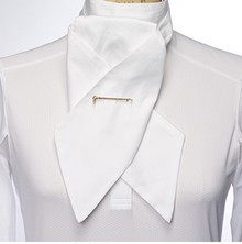 Essex Solid White Stock Tie