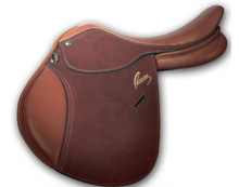 Pessoa AO Jr Covered Leather Saddle
