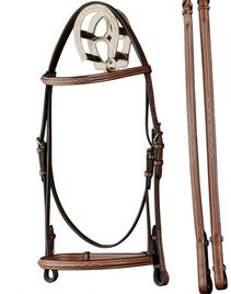 Bobby S Comfort Crown Square Padded Fancy Bridle Farm
