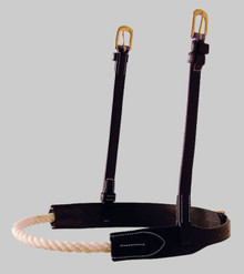 Dyon Cream Rope Noseband