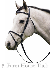 HDR Padded Raised Dressage Bridle