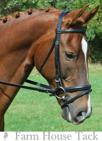 Red Barn by KL Select Levade Dressage Bridle