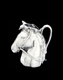 Arthur Court Equestrian Pitcher-Horse Head