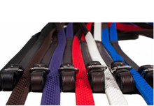 Nunn Finer Soft Touch Rubber Reins - Now in colors!