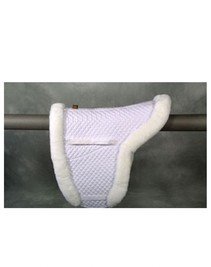 ECP Semi Lined Close Contact Fleece Pad with Bare Flaps