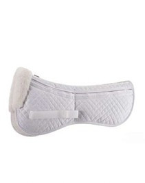 ECP Sheepskin Correction Half Pad with Memory Foam